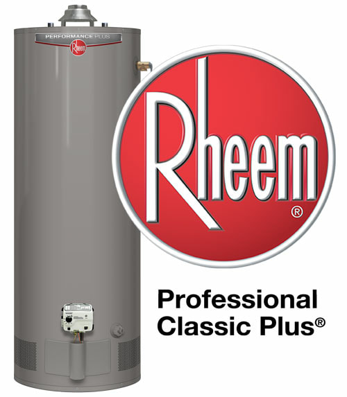 Rheem Professional Classic Plus Water Heater